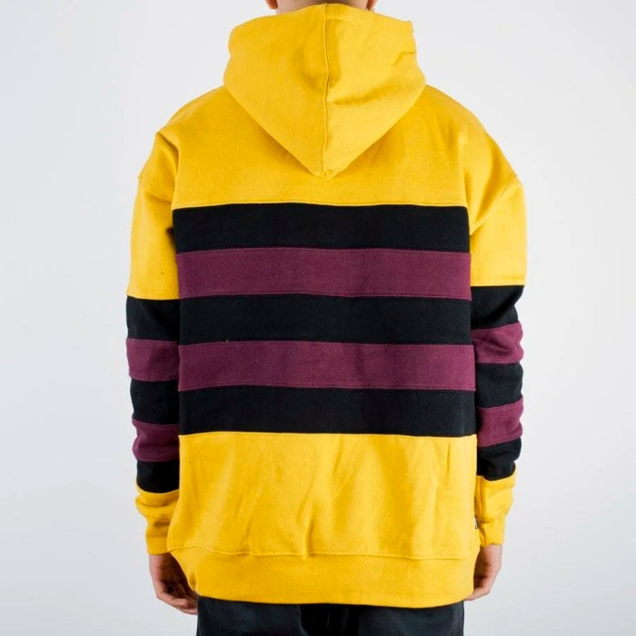 THE HUNDREDS PASSONS PULLOVER HOODIE YELLOW