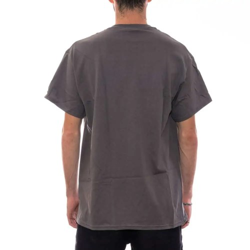 THRASHER FLAME TEE CHARCOAL 2