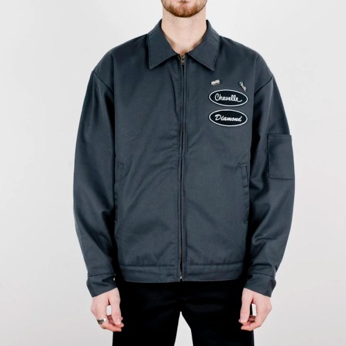 DIAMOND X CHEVELLE SS JACKET GREY