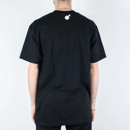 THE HUNDREDS BAR LOGO TEE BLACK
