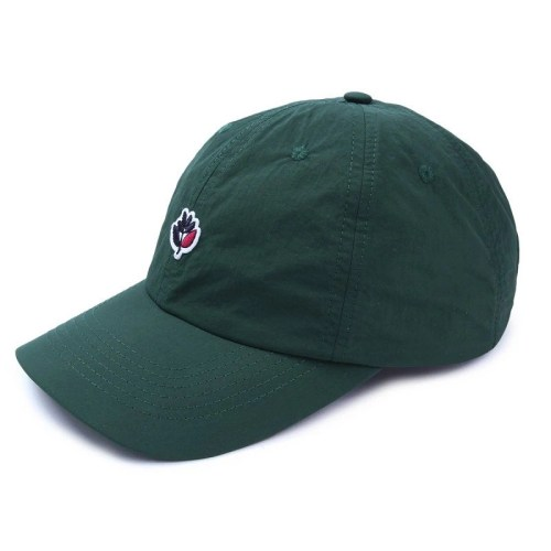 MAGENTA DAD HAT GREEN