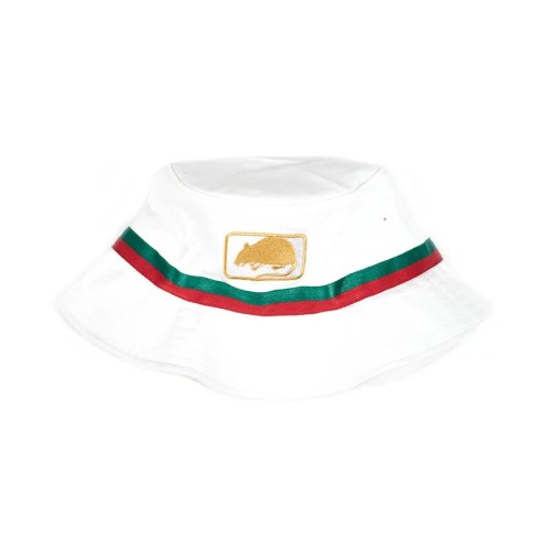 MOC BUCKET HAT WHITE