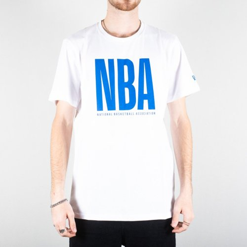 NEW ERA NBA WORDMARK TEE WHITE