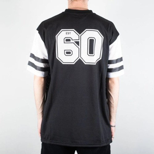 NEW ERA OAKLAND RAIDERS CONTRAST SLEEVE OVERSIZED TEE BLACK (2)