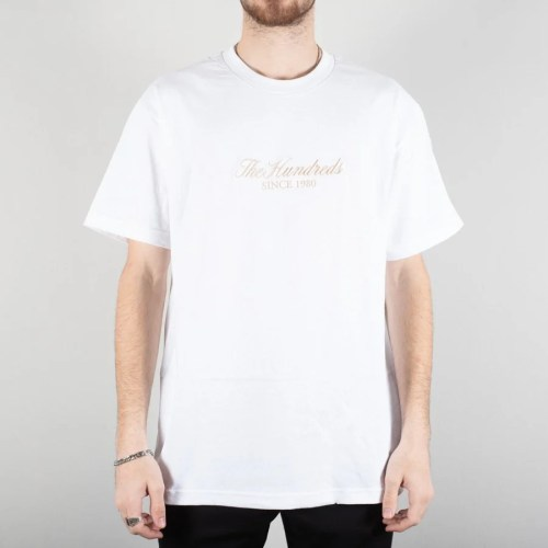 THE HUNDREDS RICH TEE WHITE