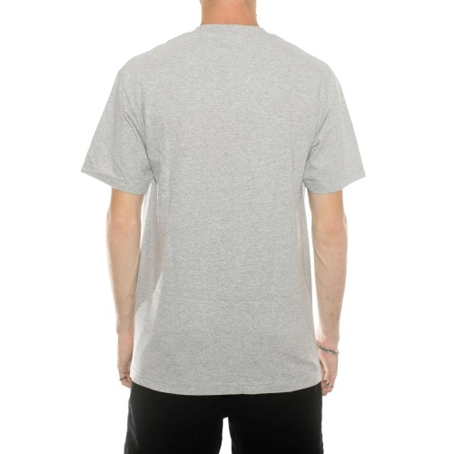 BUTTER GOODS CLASSIC LOGO TEE HEATHER GREY (2)