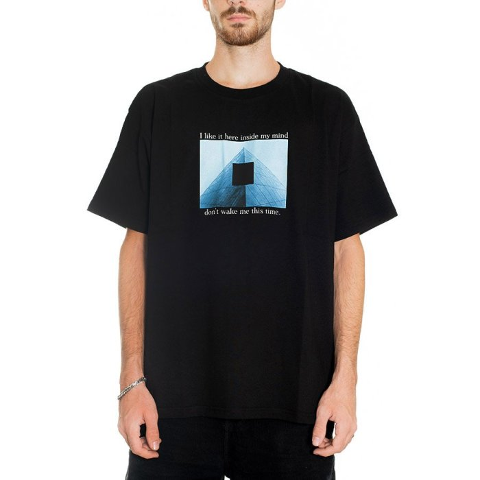 POLAR I LIKE IT HERE TEE BLACK