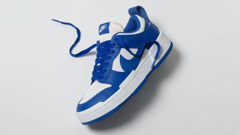 NIKE WMNS DUNK LOW DISRUPT SUMMIT WHITE GAME ROYAL
