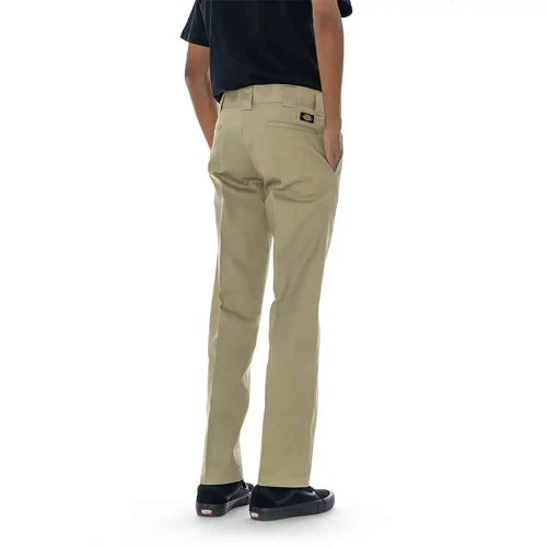 DICKIES SLIM STRAIGHT WORK PANT KHAKI 2