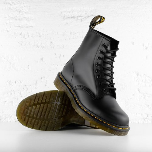 DR. AIR WAIR MARTENS 1460 SMOOTH LEATHER BLACK 2
