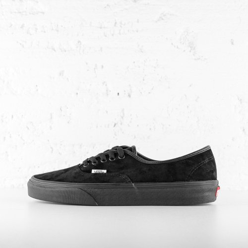 VANS AUTHENTIC BLACK SUEDE
