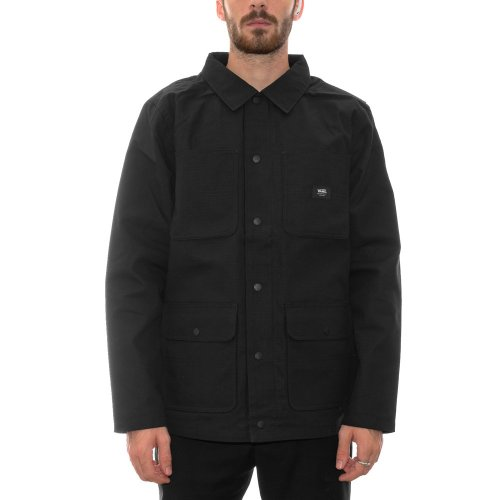 VANS DRILL CHORE COAT LINED BLACK