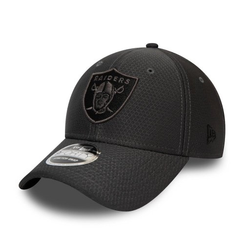 NEW ERA LAS VEGAS RAIDERS TONAL 9FORTY CAP BLACK 1