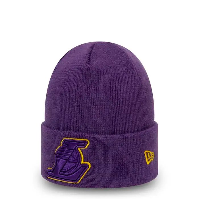 NEW ERA LOS ANGELES LAKERS COLOR OUTLINE CUFF PURPLE 3