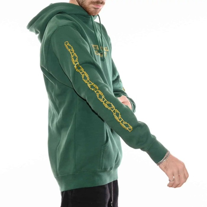 PASS~PORT INTERSOLID HOODIE FOREST GREEN (3)