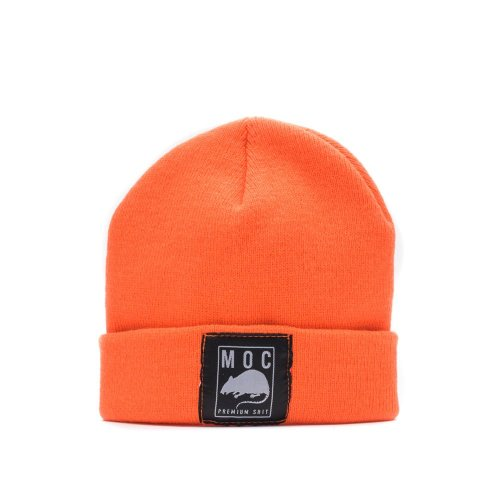 MOC LABEL 1 BEANIE SHORT NEON ORANGE
