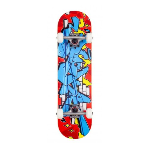 ROCKET BRICKS MINI COMPLETE SKATEBOARD multi