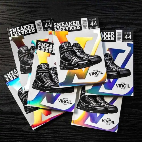 SNEAKER FREAKER ISSUE 4 MAGAZINE 2