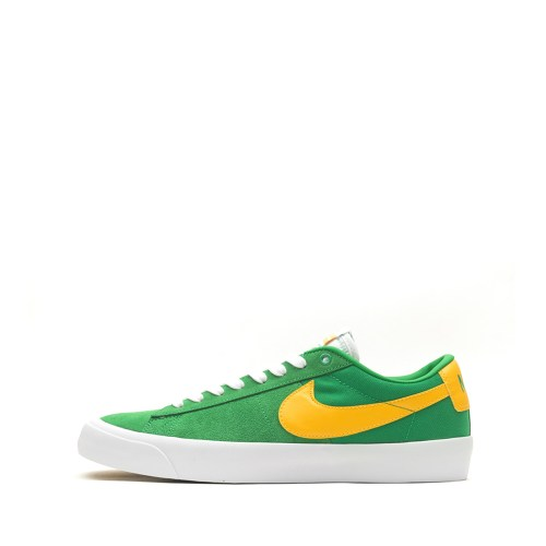 NIKE SB ZOOM BLAZER LOW PRO GT LUCKY GREEN UNIVERSITY GOLD