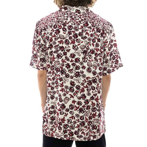 VAN MICRO DAZED BUTTONDOWN SHIRT S:S FLORAL 2