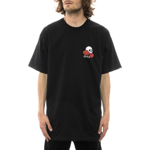 VANS ROSE BED TEE BLACK