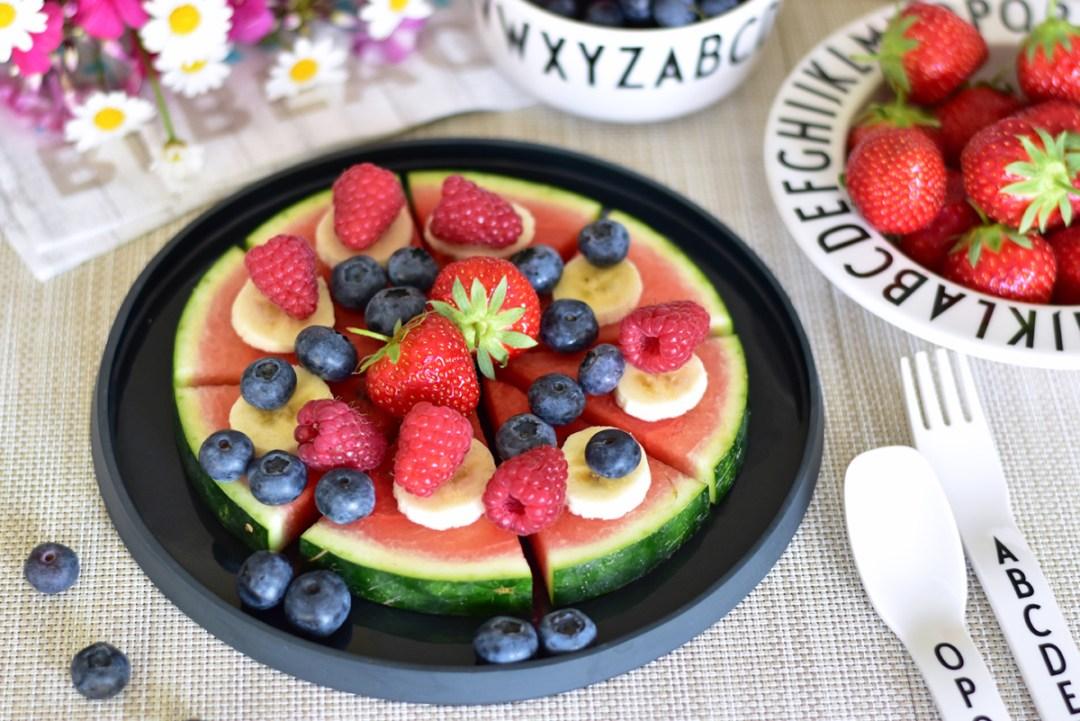Mini & Stil, Mama Blog Schweiz, Wassermelonenpizza