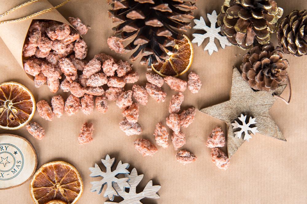 Mini& Stil, Mama Blog Schweiz, gebrannte Mandeln, Rezept, Weihnachten