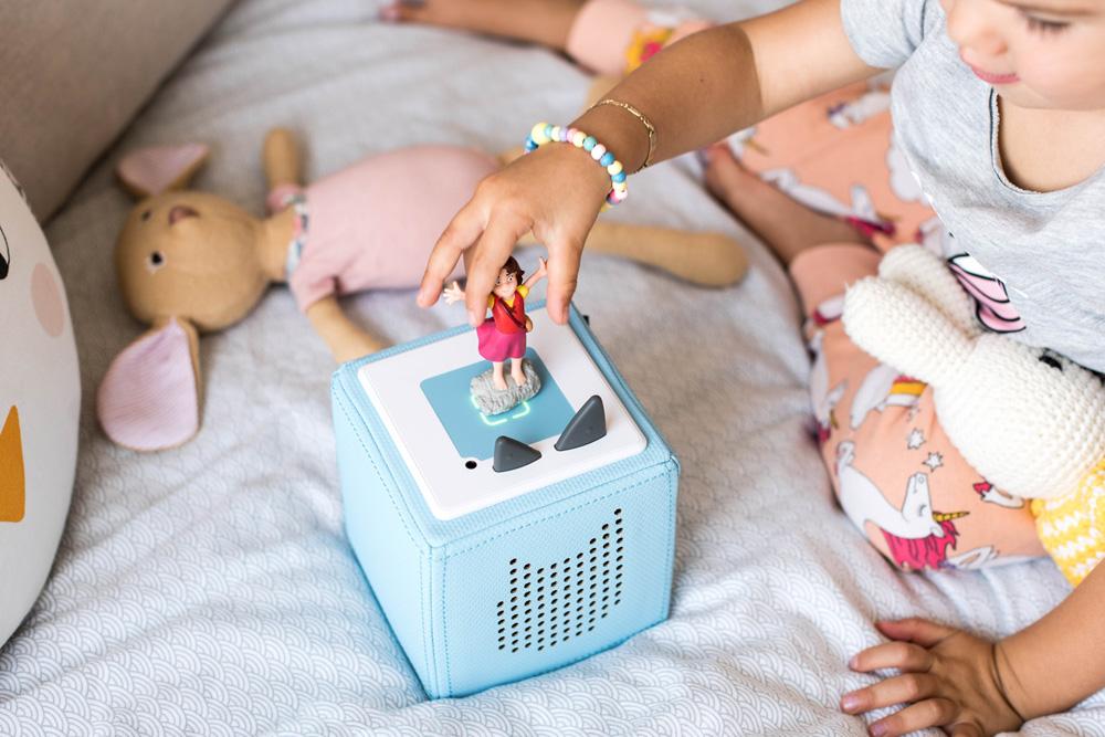Toniebox, Tonie, Audiosystem fürs Kinderzimmer, Märchen für Kinder, Mini & Stil