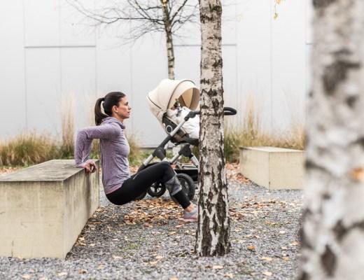 Sport mit Baby: Übungen für dein Workout mit Kinderwagen
