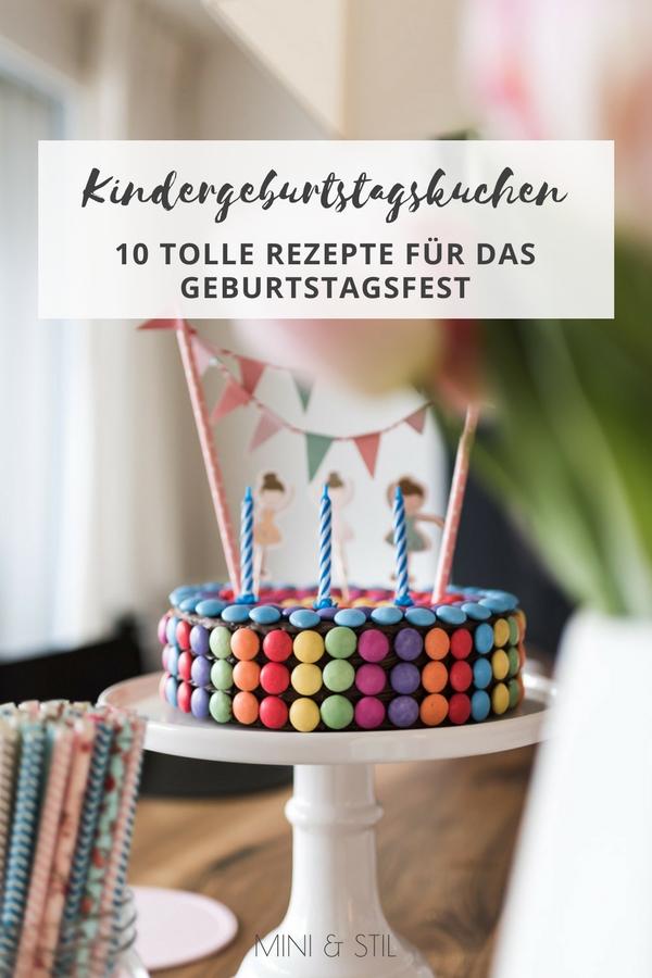 10 tolle Kindergeburtstagskuchen mit Rezept #kindergeburtstag #kindergeburtstagskuchen #geburtstagskuchen #geburtstagstorte #rezept