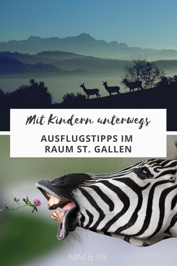 Mit Kindern unterwegs: Ausflugstipps für Familien im Raum St. Gallen