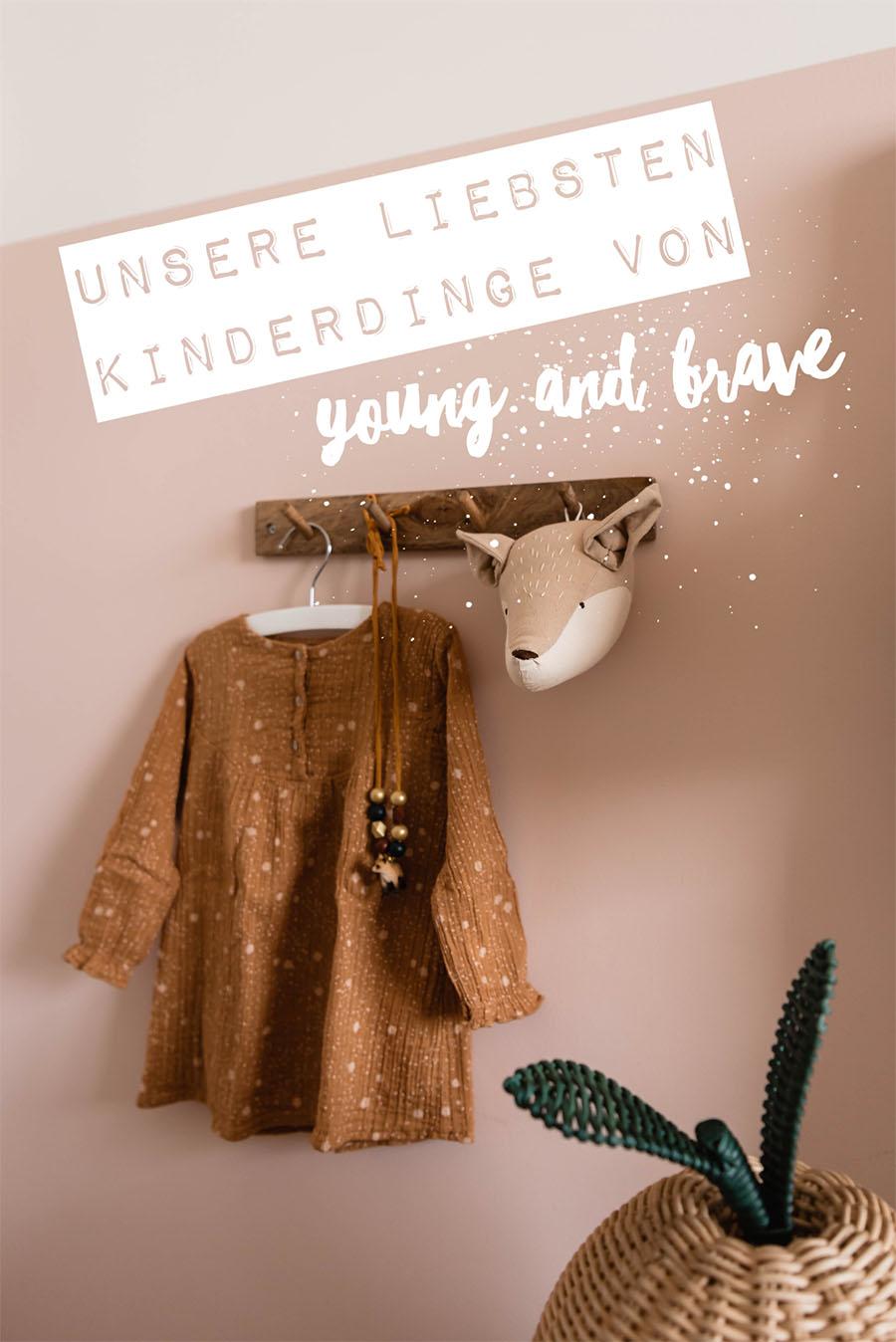 Einfach schöne Sachen: Das sind unsere Liebdinge für Kinder aus dem Onlineshop von young and brave #spielsachen #kindermode #olliella #donsje
