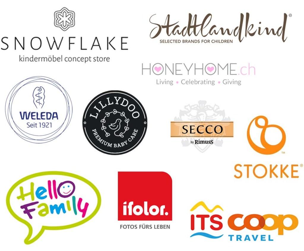 Logos der Partner von Mini & Stil