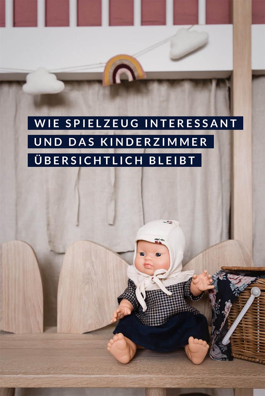 Der Tauschbazar: So bleibt das Kinderzimmer übersichtlich und Spielzeug interessant #kinderzimmer #kidsroom #puppe #spielzeug