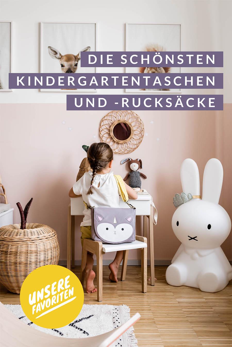 Kindergartentaschen und Kindergartenrucksäcke: Unsere Favoriten #kindergartentasche #kindergartenrucksack #kindergarten