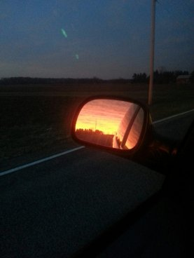 Mirror Sunset