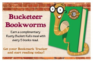 Bucketeer Bookworms