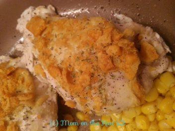 cheesy oregano chicken