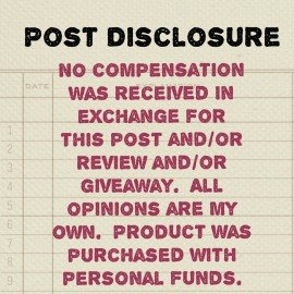 FTC Disclosure No Compensation Received Mom on the Run x2
