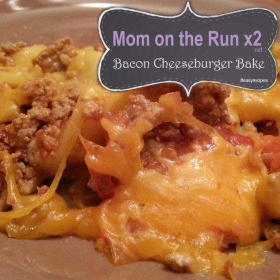 bacon cheeseburger bake