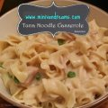 Tuna Noodle Casserole via Mini Van Dreams