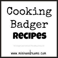 Cooking Badger