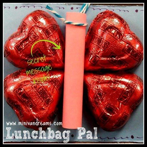 Lunch Bag Pal via Mini Van Dreams