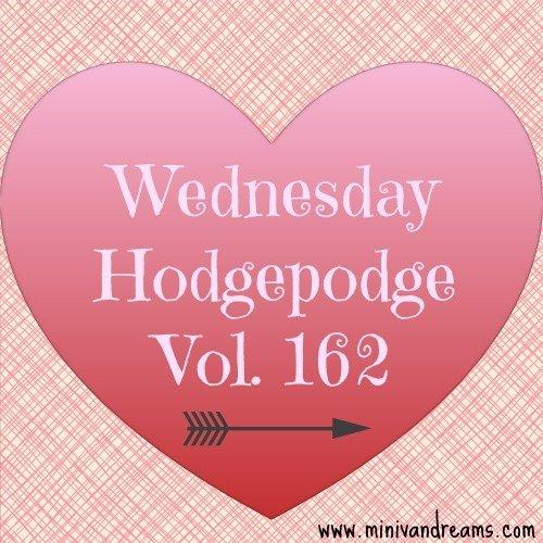 wednesday hodgepodge vol. 162 via mini van dreams