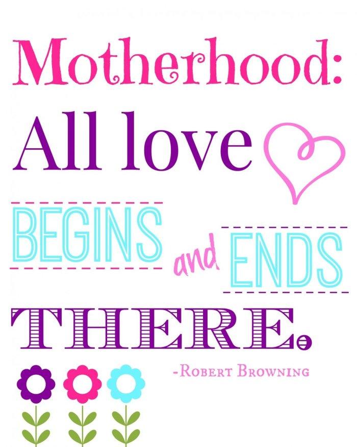 Mother's Day Subway Art via Mini Van Dreams #mothersday #printable