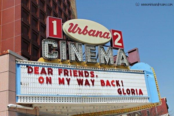 Urbana Cinema to Reopen via Mini Van Dreams