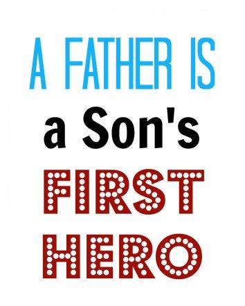 Fathers Day Subway Art Free Printable | Mini Van Dreams #free #printable #fathersday