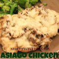 Baked Asiago Chicken | Mini Van Dreams #recipes #easyrecipes #recipesforchicken