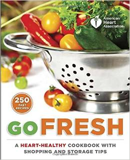 American Heart Association Go Fresh Book Review | Mini Van Dreams #review #bookreview #recipes