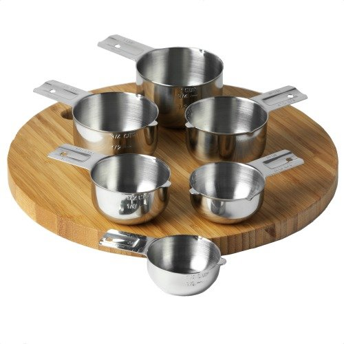KitchenMade Stainless Steel Measuring Cups Review   Mini Van Dreams #prfriendly #review #sponsored